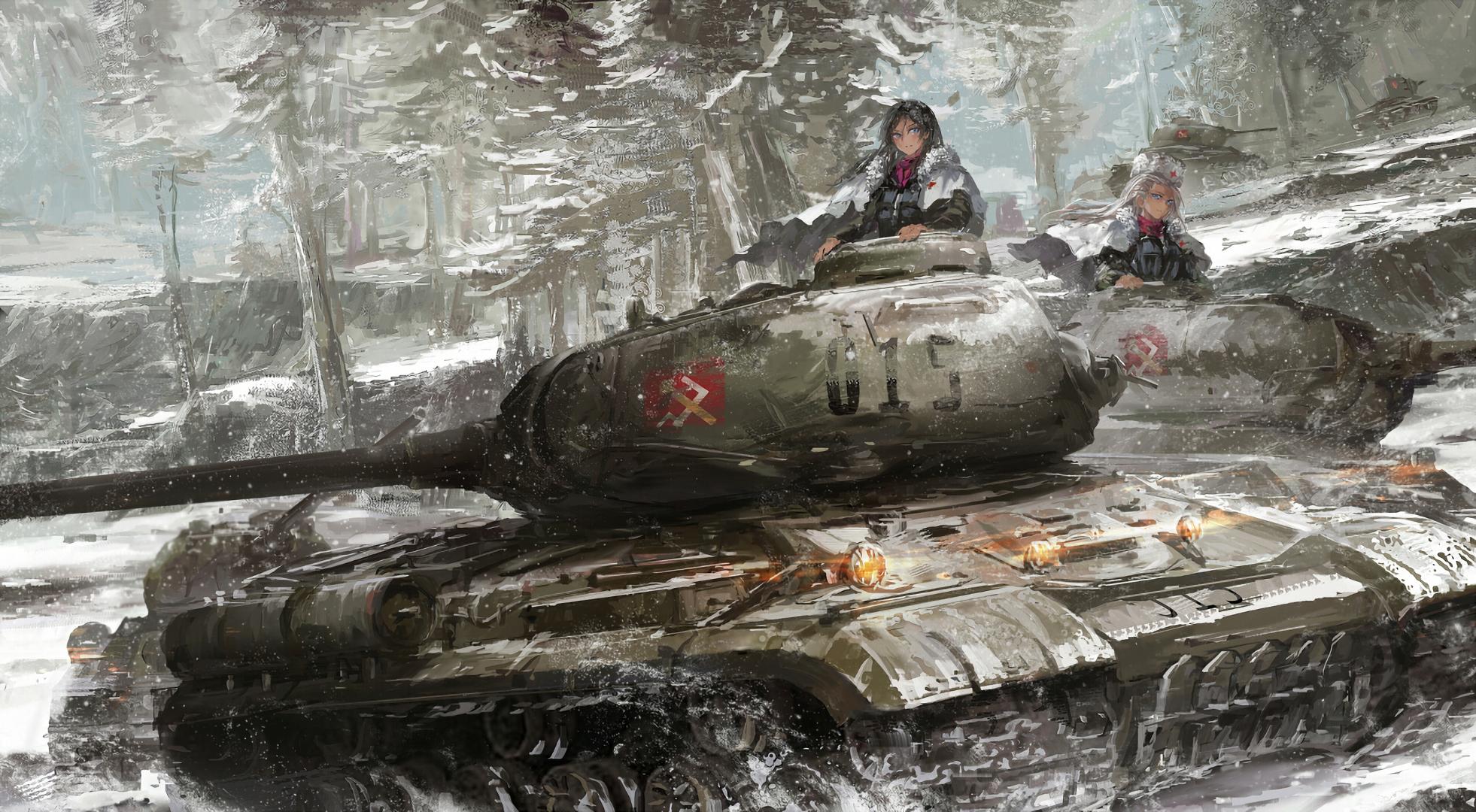 Arte Conceptual Pravda Girls Und Panzer Anime Military Anime Wallpaper Anime Scenery