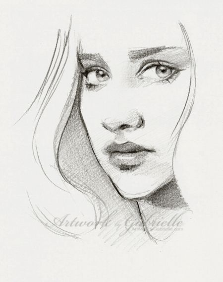 Quick 25 min sketch from a ref :)