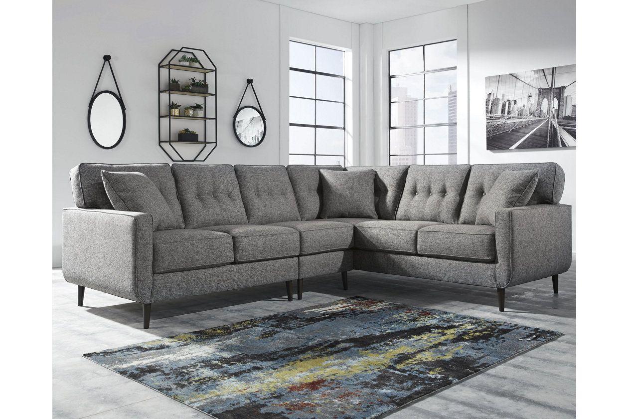 1000 Zardoni 3 Piece Sectional Ashley Furniture