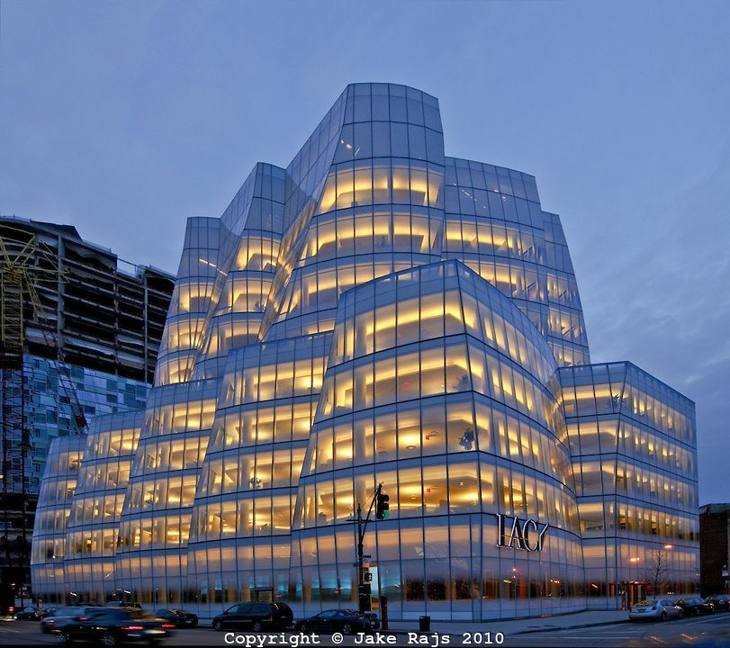 Iac Building Designed By Frank Gehry Manhattan New York City