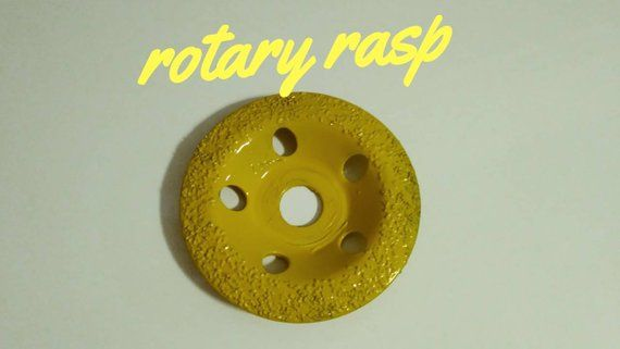 Rotary rasp  Woodcarving Disc for an angle grinder  Power