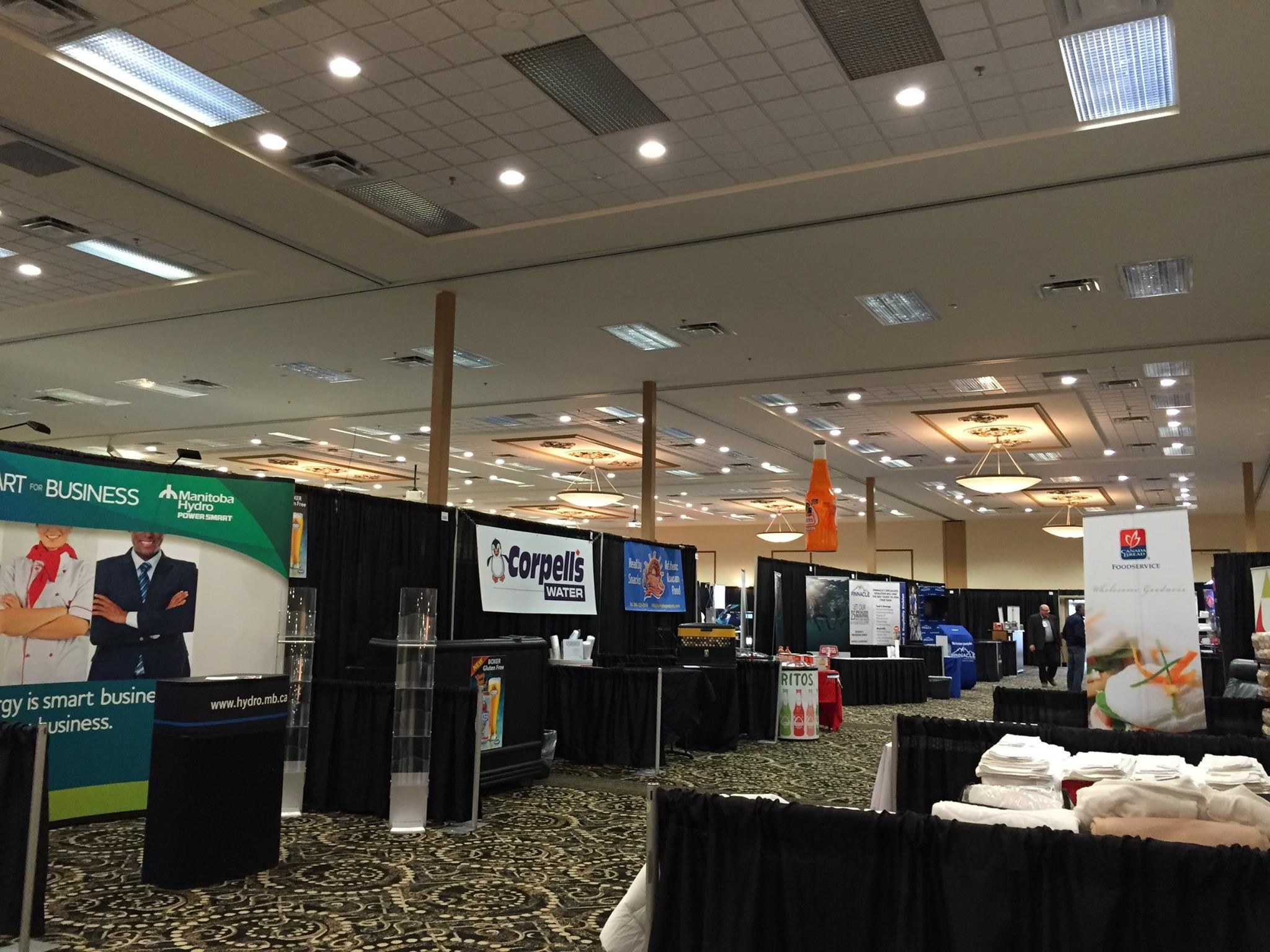 We Hope Everyone Had A Great Time At The Manitoba Hotel Association Trade Show Here