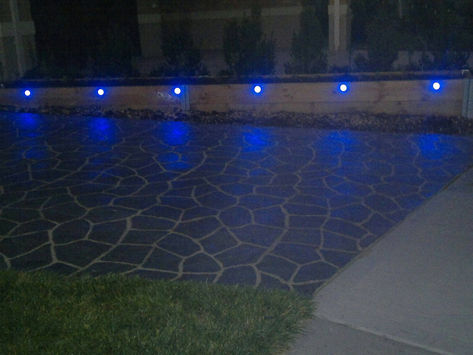 One of our customers installed their deck lights in a driveway one of our customers installed their deck lights in a driveway garden planter box turning aloadofball Image collections