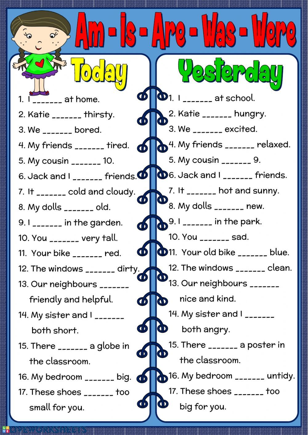 Verb To Be Interactive And Downloadable Worksheet You Can Do The Exercises Onl English Grammar Worksheets English Grammar For Kids English Worksheets For Kids [ 1413 x 1000 Pixel ]