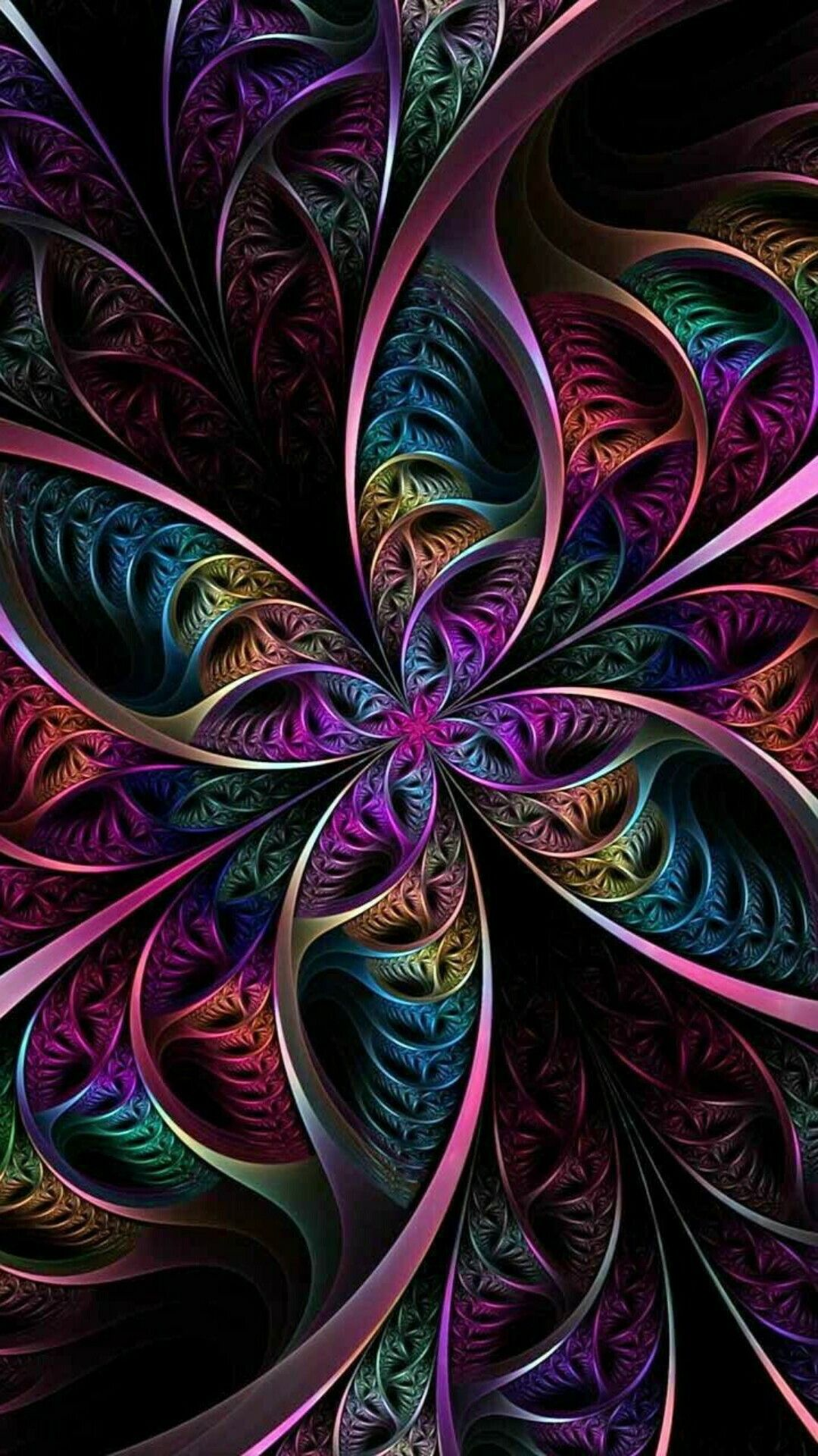 Pin By Joanie Domenech On Misc Pics Psychedelic Art Abstract Fractal Art