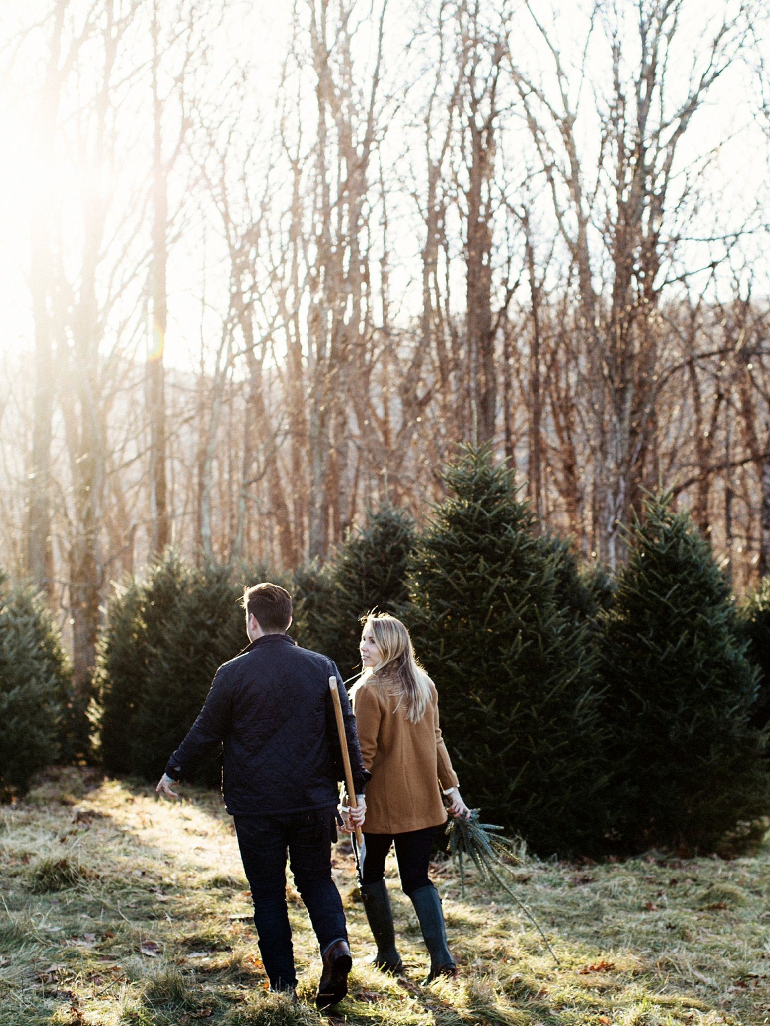 Boone Christmas Tree Hunt Lifestyle Shoot