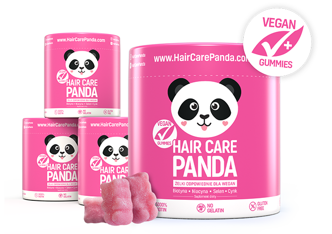 Hair Care Panda Witaminy na włosy w żelkach odpowiednie