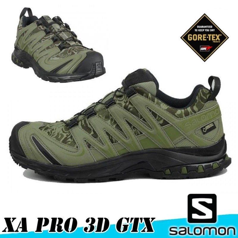 9abfe6ae2b9a Salomon XA PRO 3D GTX FORCES - CAMO DARK KHAKI - Scarpe - Abbigliamento
