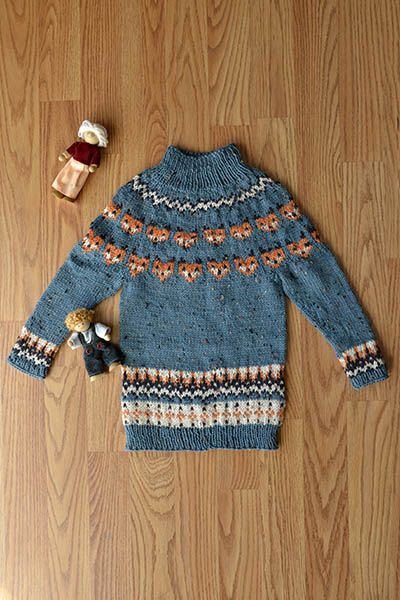 Free Sweater Pattern - What Does The Sweater Say? knit in Deluxe ...