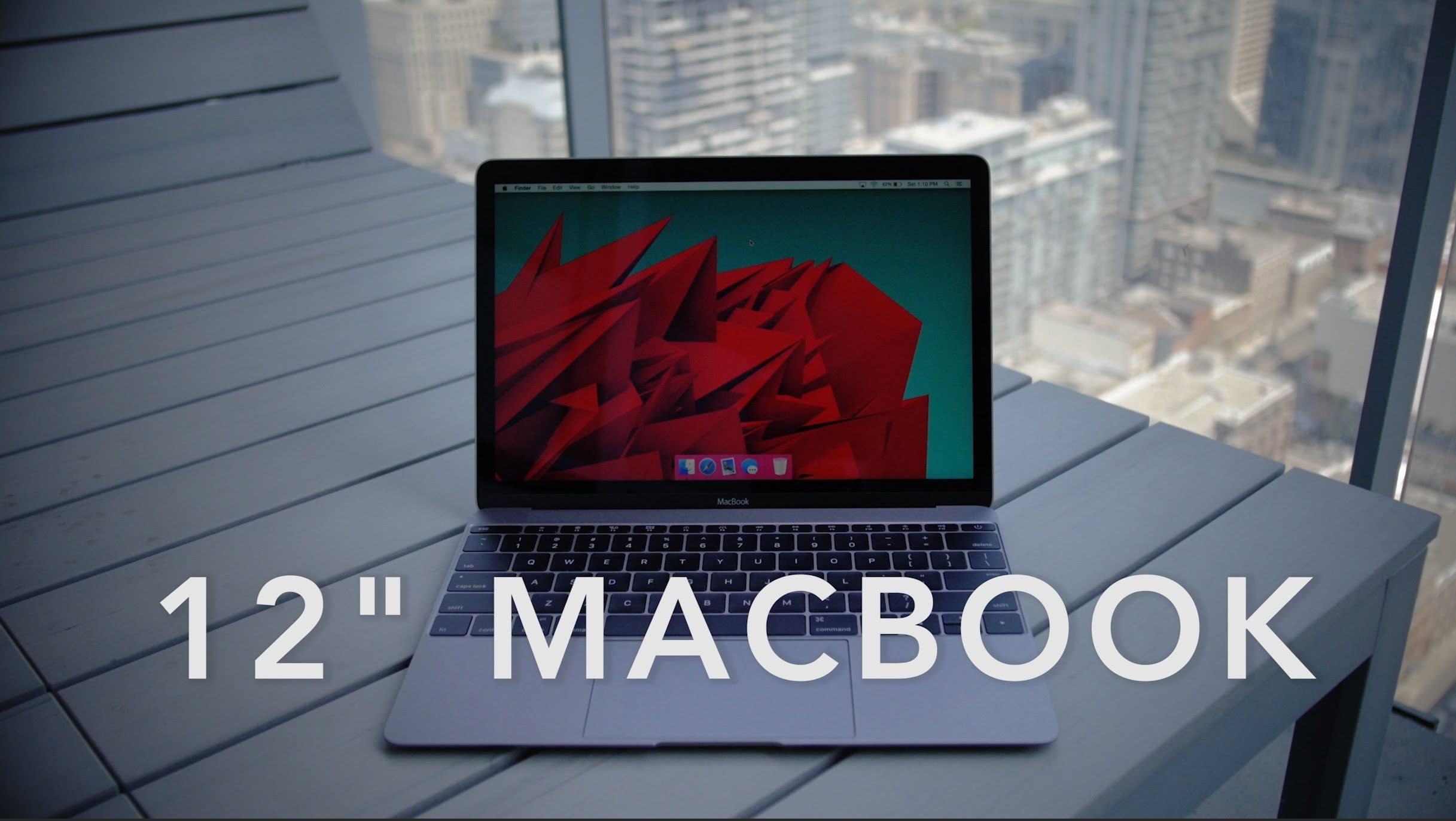 """12"""" Macbook Review One month with one hole Macbook"""
