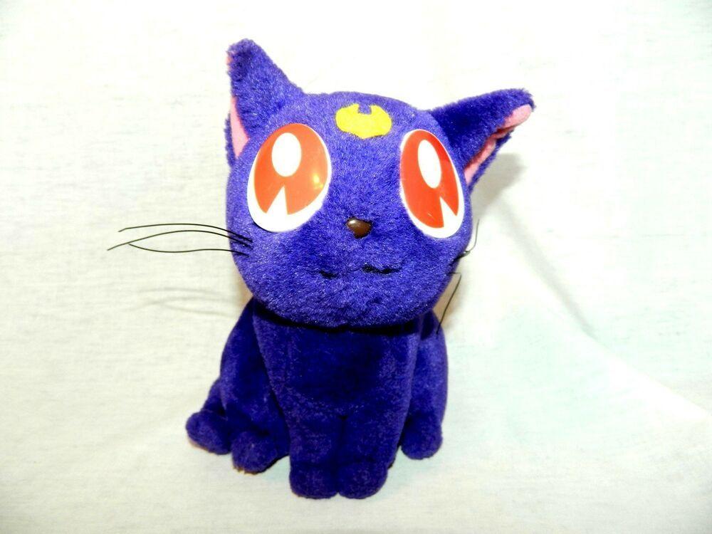 "Luna P 8/"" Plush *NEW* Sailor Moon R"