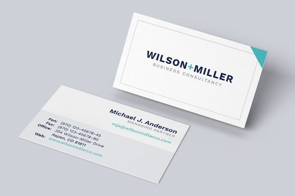 Business Card Template Typo Business Card Template Word Modern Business Cards Business Card Template