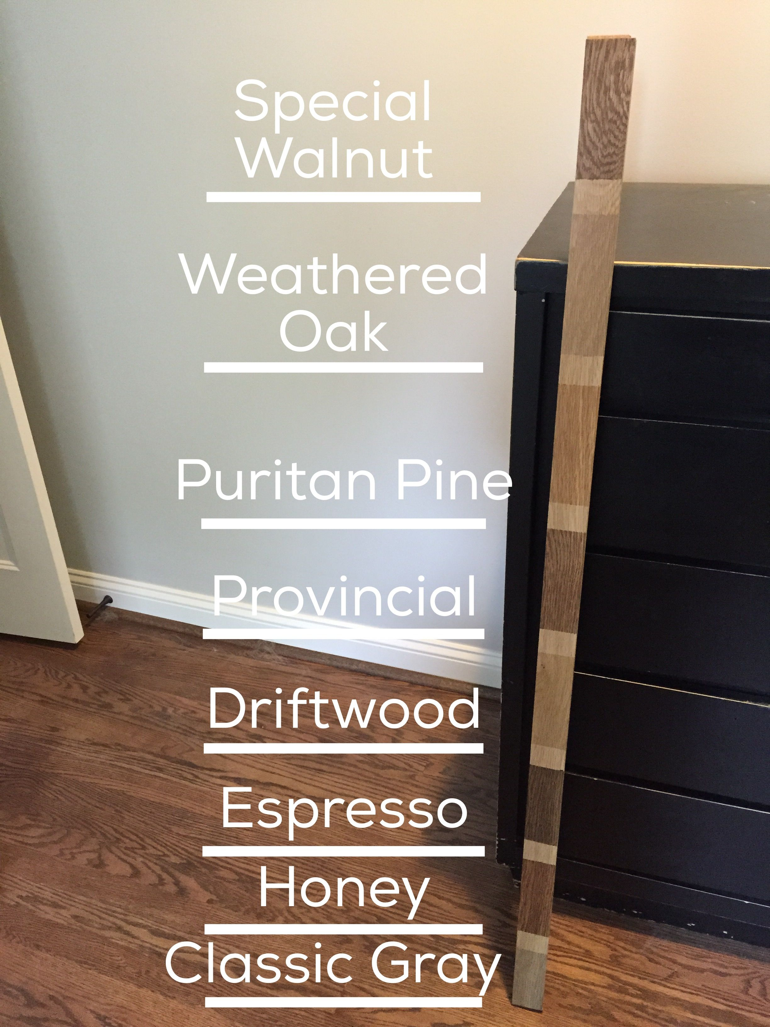 minwax floor stain samples