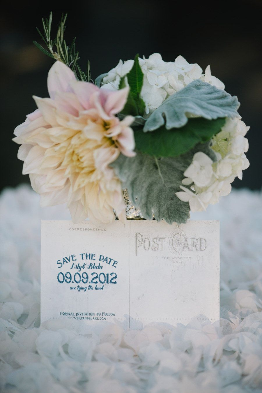#save-the-date  Photography: Delbarr Moradi Photography - delbarrmoradi.com Planning: Soiree by Simone Lennon - soireebysimone.com Floral Design: Fleurs Du Soleil - kimenglandflowers.com  Read More: http://www.stylemepretty.com/2013/02/25/carmel-valley-wedding-from-delbarr-moradi-simone-lennon/