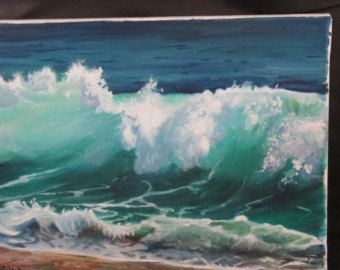 Items similar to Ocean Wave mosaïque on Etsy