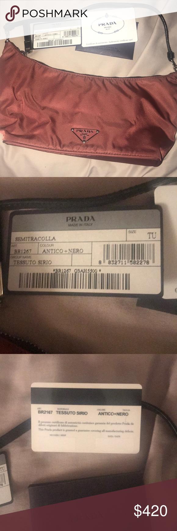 Authentic Prada Nylon mini bag BR1267 Semitracolla 100% authentic Prada bag  Smoke free pet free a411d7288835f