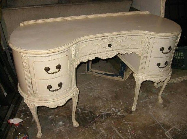 Painted Dresser Primitive Proper S Perfect French Provincial Furniture