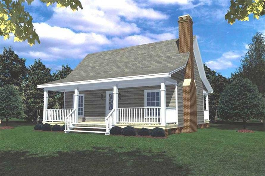 Front Elevation Of Small House Plans Home Theplancollection