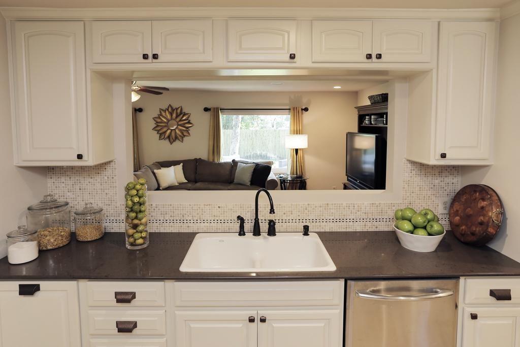 6507 LINDYANN LANE HOUSTON, TX 77008 Photo Kitchen pass through to