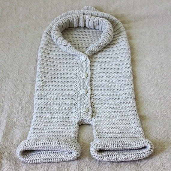 Crochet PATTERN Knit-look Baby Bunting | Crochet & Knitting. Baby ...