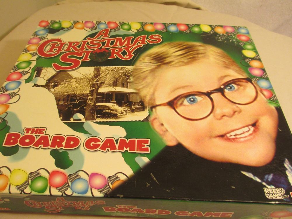 A Christmas Story Board Game - Complete - Never Played - Ralphie