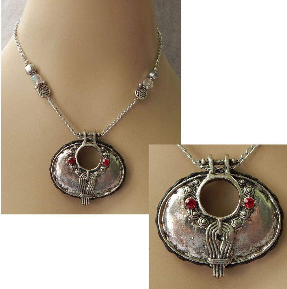 Silver Celtic Pendant Necklace Jewelry Handmade NEW Accessories Adjustable #handmade http://www.ebay.com/itm/Silver-Celtic-Pendant-Necklace-Jewelry-Handmade-NEW-Accessories-Adjustable-/161495742755?