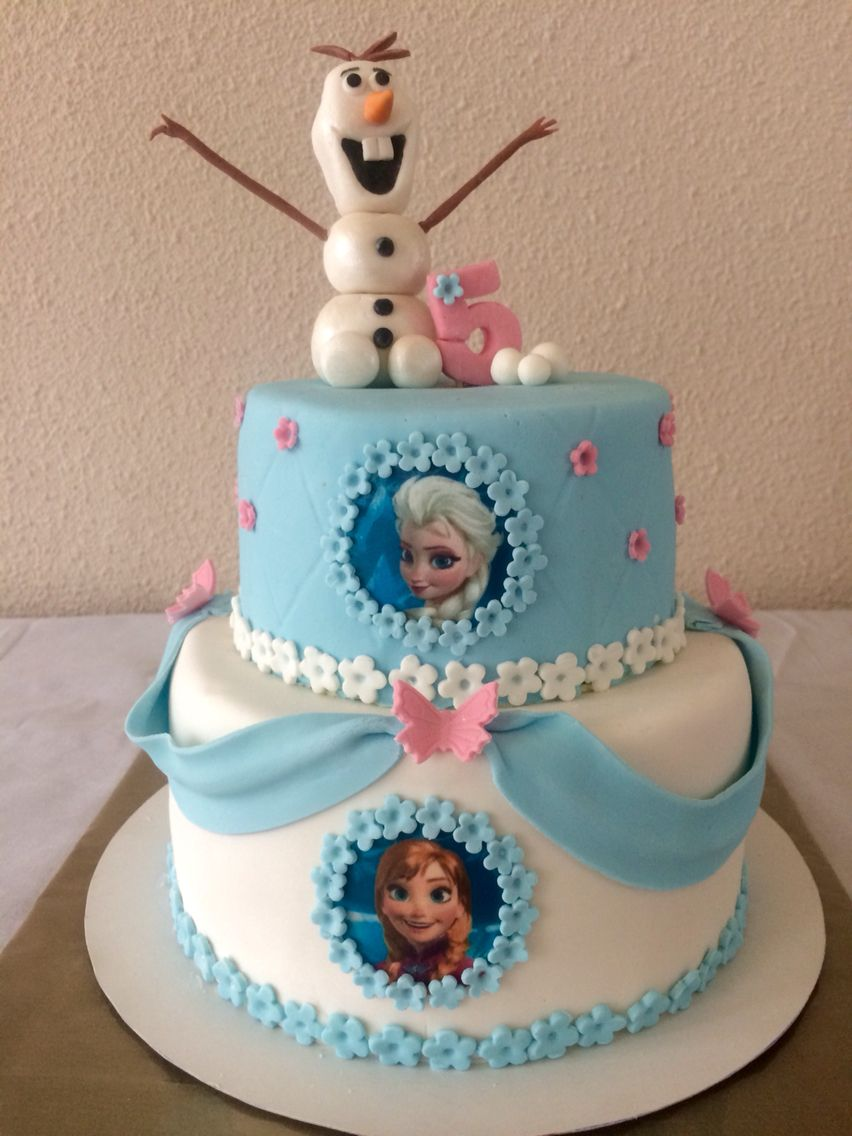 Frozen Taart Ajla Pinterest Cake Birthdays And Birthday Cakes