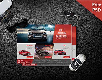 Free Creative Car Rental Service Flyer Is A Print Ready Psd