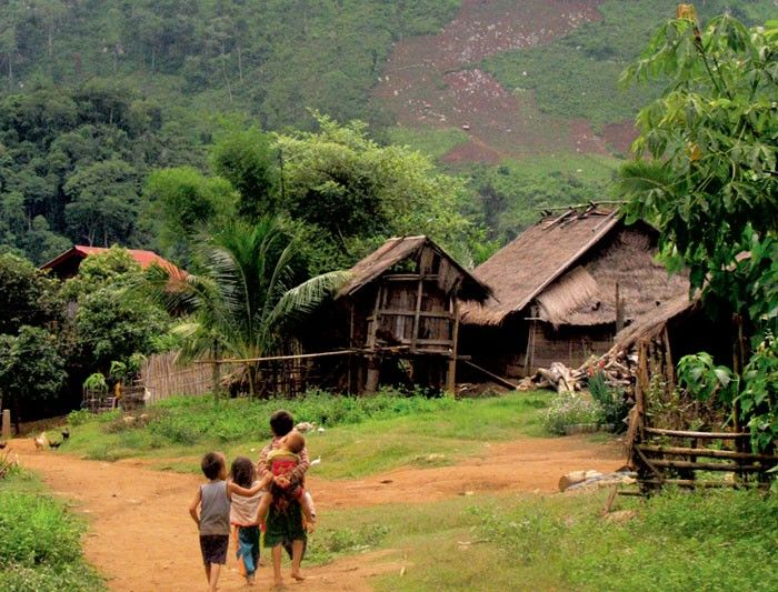 Laos stunning scenery in rural villages kid 39 s study for Best rural places to live in california