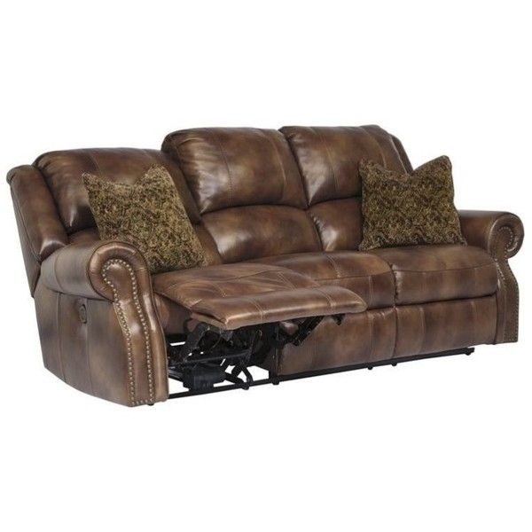 Ashley Furniture Walworth Leather Reclining Sofa 1 635 Liked