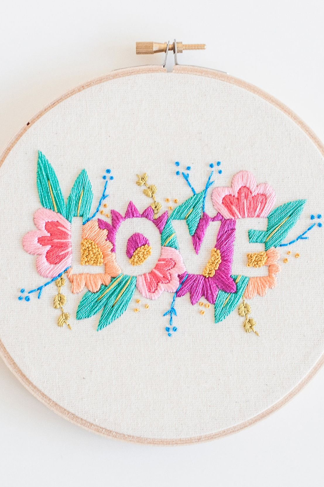 And this embroidery pattern.