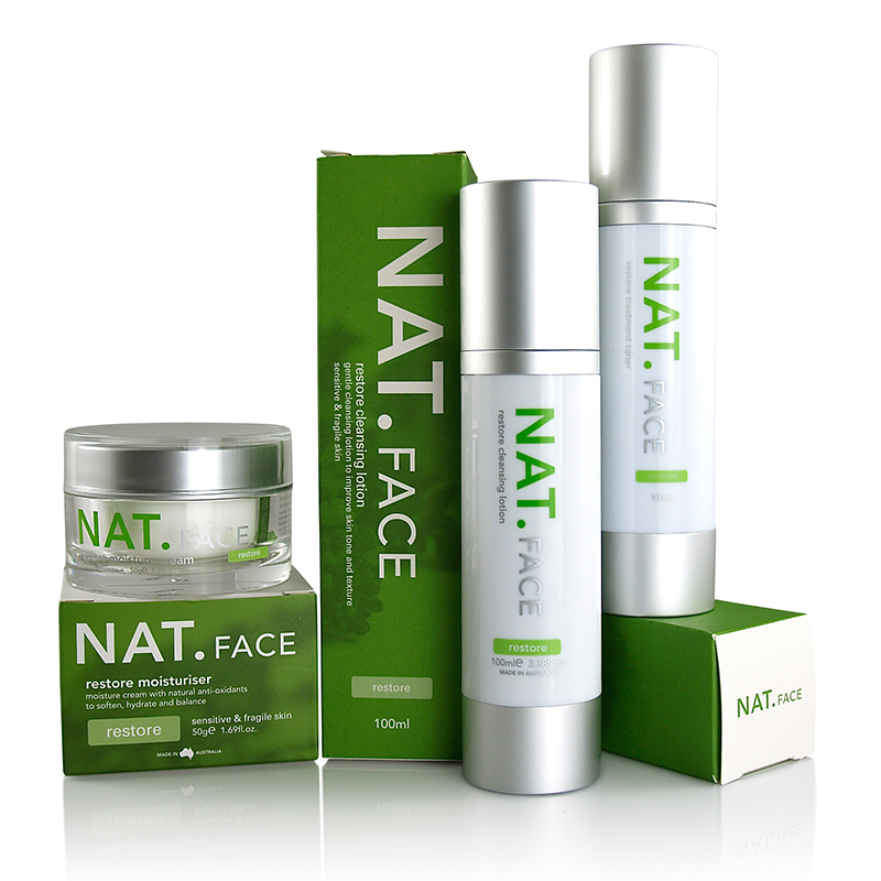Nat restore gift pack Face lotion, Lotion, Moisturizer