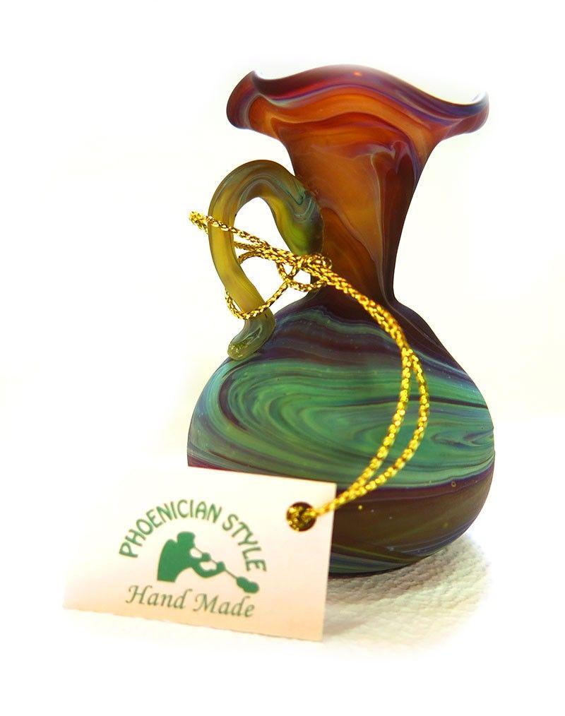 Glass Vase Phoenician Style Holyland4jesus Glass Vase Vase Glass