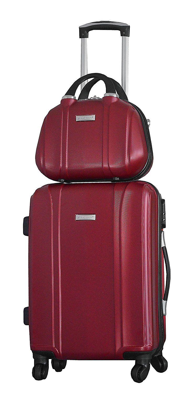 grande vente 439b9 a3028 Valise cabine rigide 4 roues et Vanity case assorti-Madisson ...