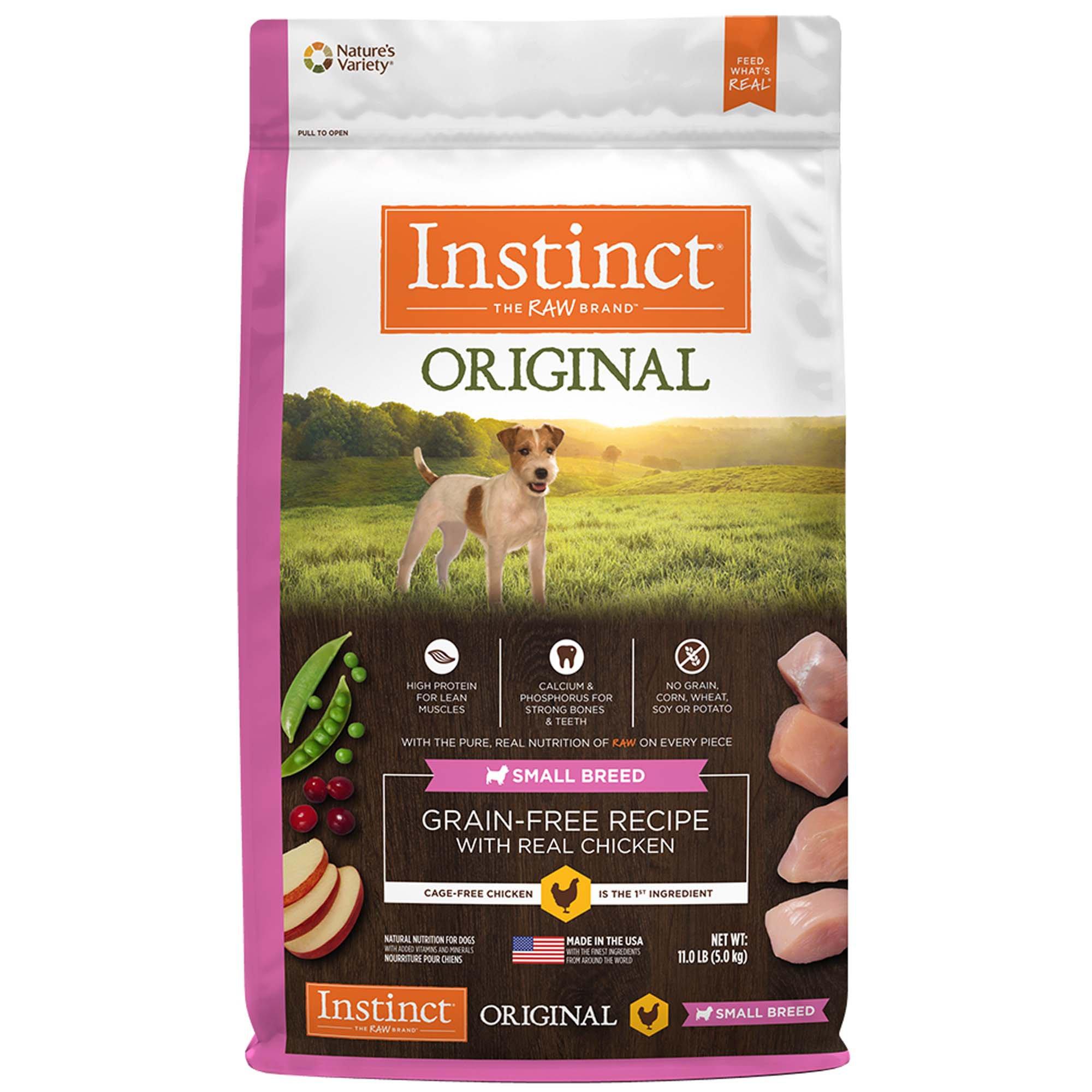 Instinct Original Small Breed Grain Free Recipe With Real Chicken