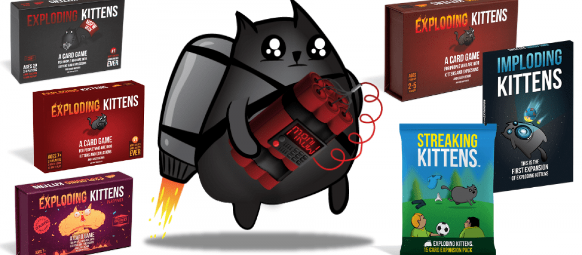 Exploding Kittens Card Game Review How to Play, Rules