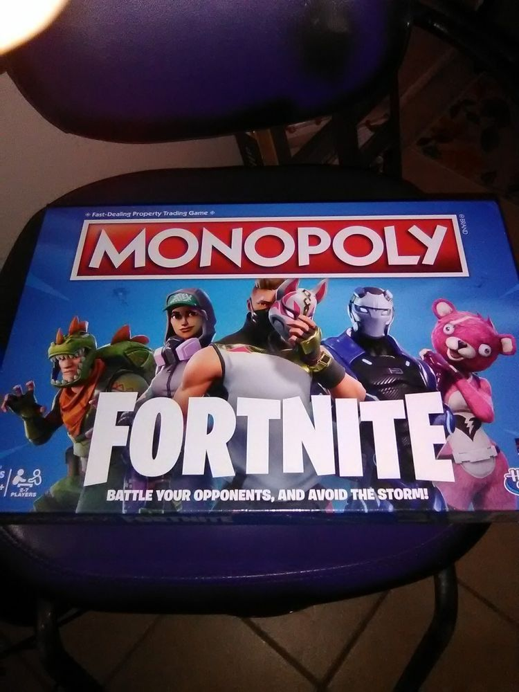 Fortnite Monopoly Board Game Limited Edition Ready To Ship