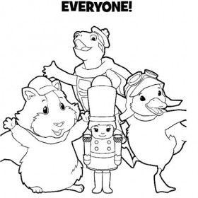 Pin 12 Pets Coloring Pages 10 Wonder 8 Cake On Pinterest Coloring Pages Wonder Pets Pets
