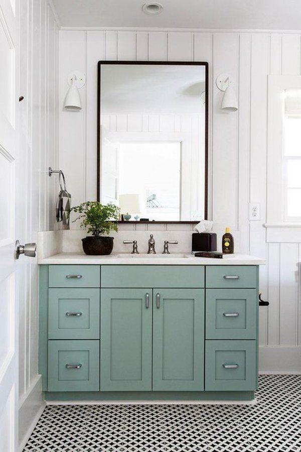 20 Stilvolle Mint Green Bad Ideen Kleines Bad Dekorieren