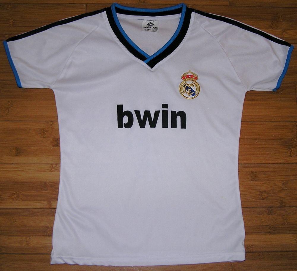 official photos eab0e 56930 Real Madrid Cristiano Ronaldo Walas Soccer Jersey #7 ...