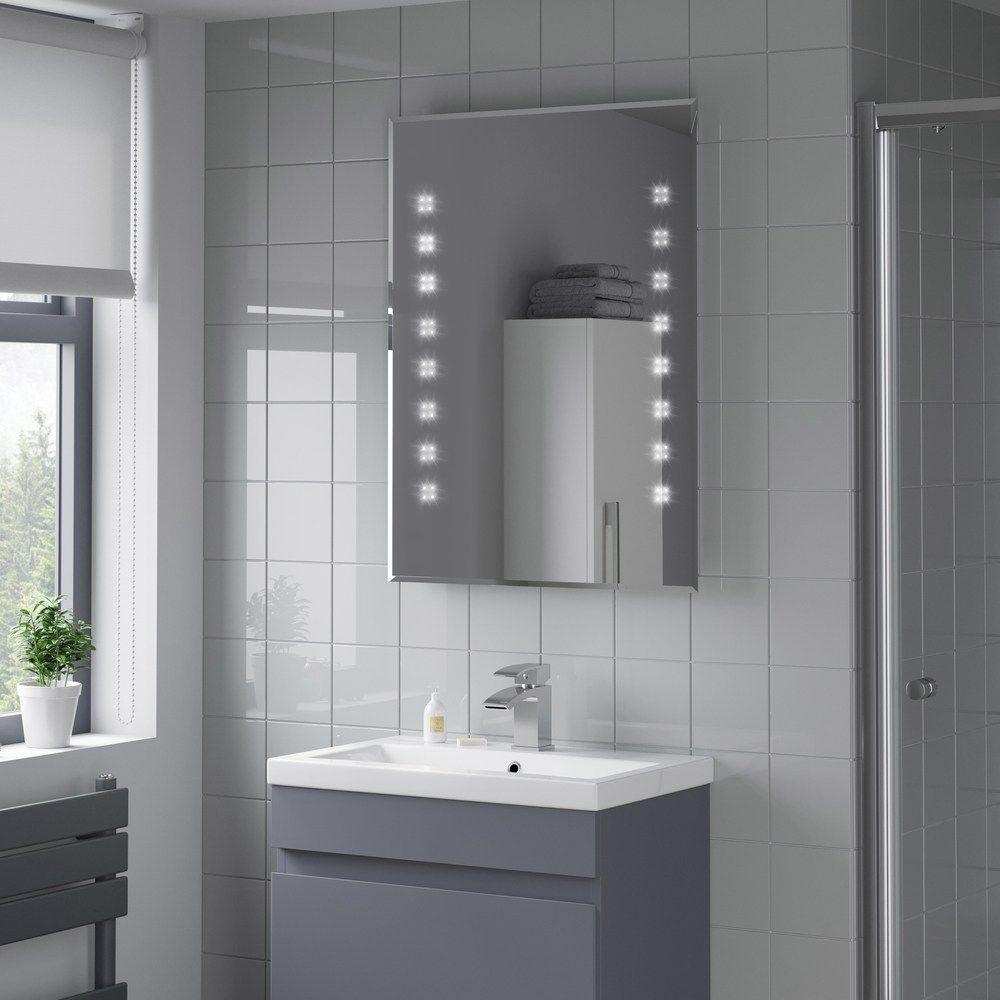 Artis Altum Led Illuminated Mirror 600 X 800 Mm With Demister Mains Power Led Mirror Bathroom Mirror Bathroom Mirror