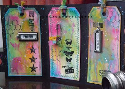 The Little Shabby Shed: Distress Paints love http://thelittleshabbyshed.blogspot.co.uk/2013/02/distress-paints-love.html