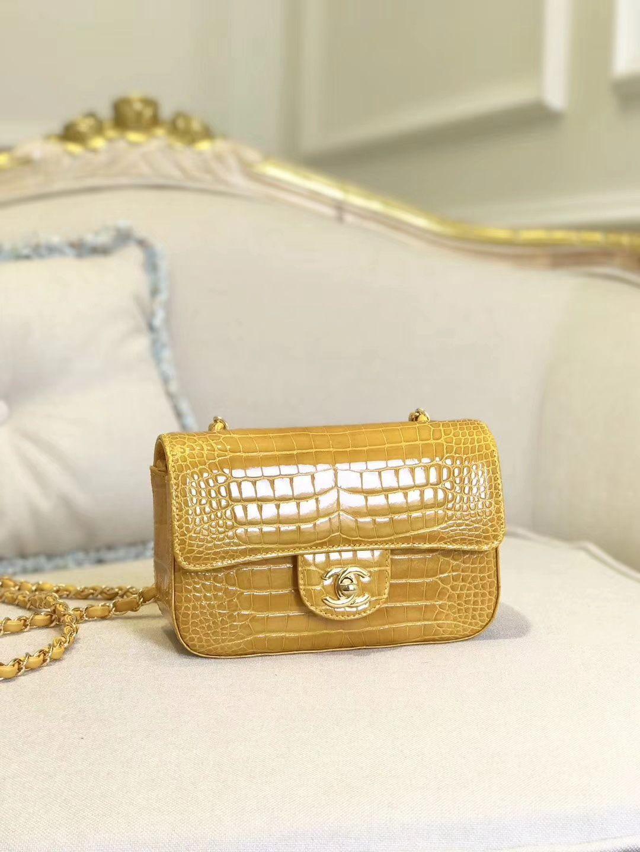 3d2ed4c1912eec 28.Chanel-Real-Crocodile-Leather-Mini-Flap-Bag | Chanel handbags in ...