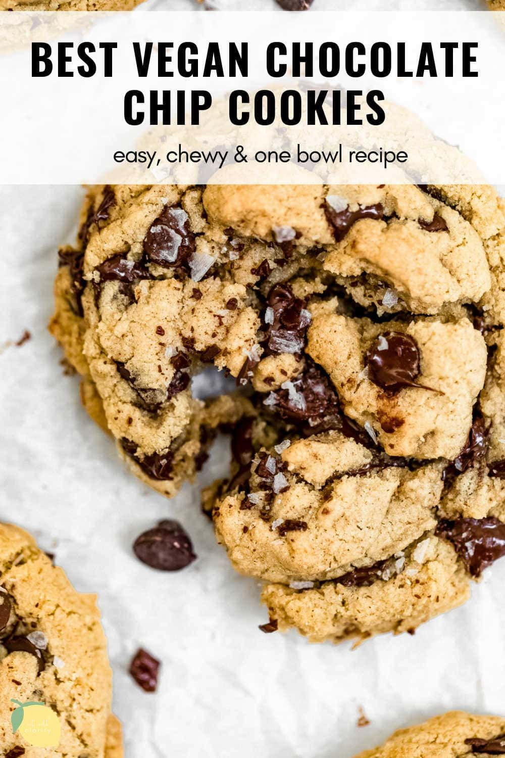 Classic Vegan Chocolate Chip Cookies Eat With Clarity Recipe In 2020 Vegan Chocolate Chip Cookie Recipe Vegan Chocolate Chip Cookies Simple Chocolate Chip Cookie Recipe