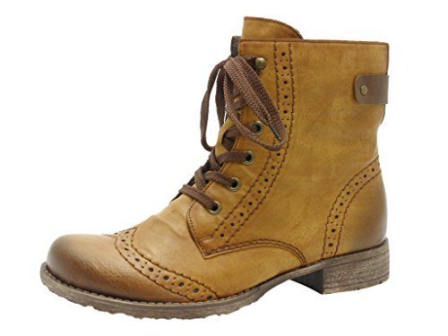 Rieker Women's 70801 Boots Brown Braun