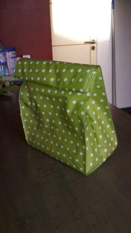 Lunch box en coton enduit