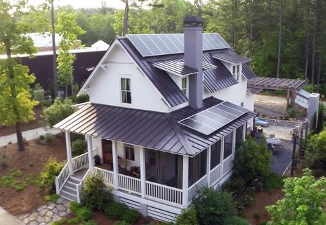 Best Farmhouse Plans With Wrap Around Porch Metal Roof Southern Living 45 Ideas In 2020 Southern Living House Plans Porch House Plans House Plans Farmhouse
