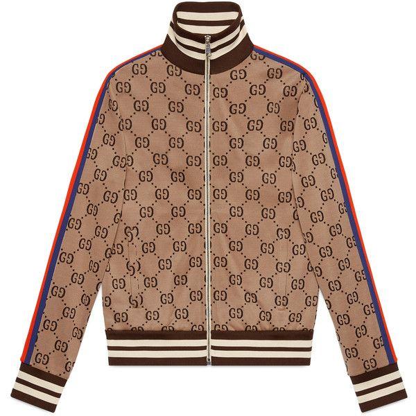 09adc83e390 Gucci Gg Jacquard Cotton Jacket ( 1