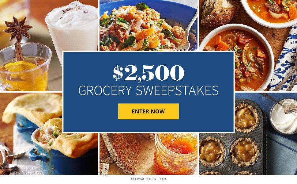 $2,500 Grocery Sweepstakes | Sweepstakes 2019 in 2019