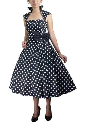 Plus Size Pin Up Clothing Polka Dot Dress Plus Size Pinterest
